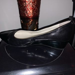 Black wedges from Anne Klein